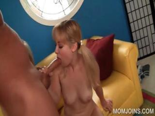 pecker engulfing with mama and daughter