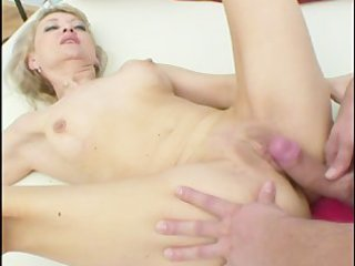 golden-haired mature looks for younger cock