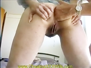 Mature wife anal fisting and squirting