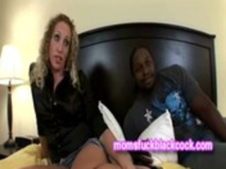 golden-haired mother i sex talk with dark guy