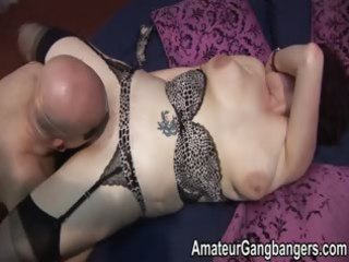 older non-professional housewives used as fucktoys