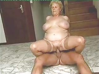 aged woman having sex with youthful man-0