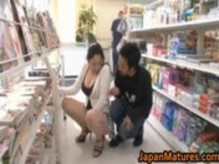 ayane asakura asian milf has public sex