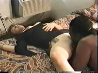 swinger wife doxy with her large dark paramour -