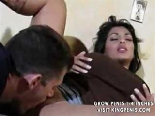 ball tits d like to fuck gets hawt cum on her