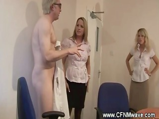Horny couple gets caught giving oral pleasure at