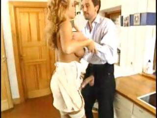 older blonde european whore gives his knob lovely