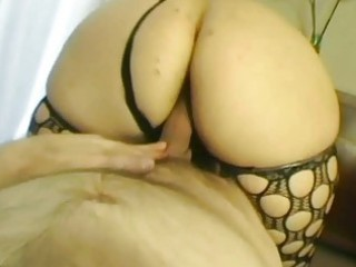 excited blonde mother i from uk copulates in