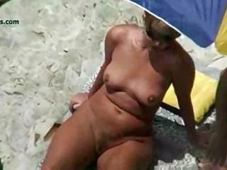 nude beach aged voyeur 1some