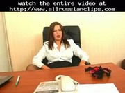 Sexy russian office mature  russian cumshots