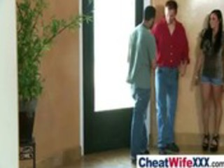 adultery wives acquire screwed hard on tape