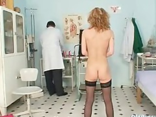slim mother i nora gyno clinic exam by kinky