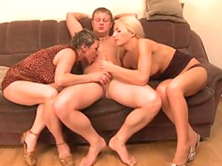threesome with my mother