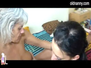 see excited mature lesbo sex with a younger girl