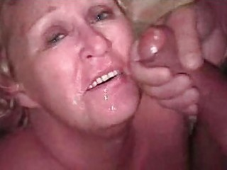 granny blonde bukkake