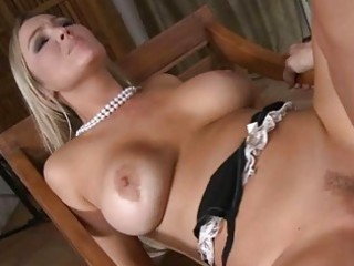 golden-haired wench wife gets ravaged by biggest