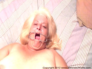 pov anal 50 year old granny wanda receives