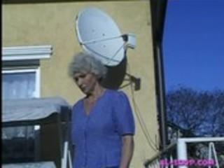 Granny norma pissing