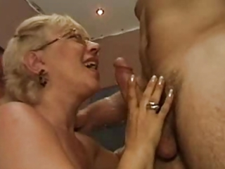 his tutor is a hawt older slut that is can cock