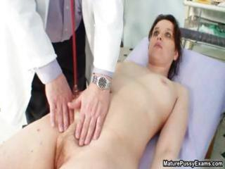 concupiscent doctor abusing his mature mmf part10