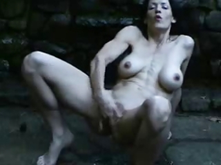 great squirting outdoor of sexy mature.
