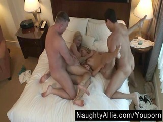 hidden camera foursome – wife swapping swingers