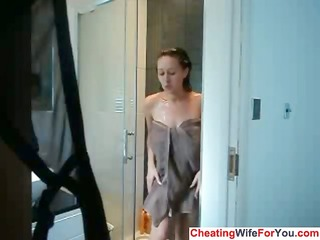 british big beautiful woman masturbates in the