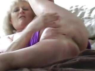 adorable granny fingering