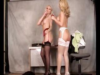 lana cox and teresa scott smokin lesbian babes