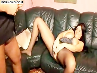wife screwed wearing pantyhose
