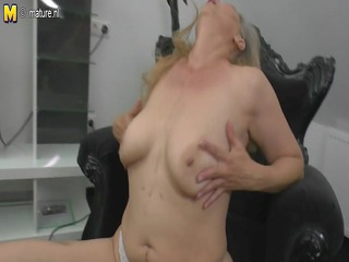 older mother masturbating watching xhamster