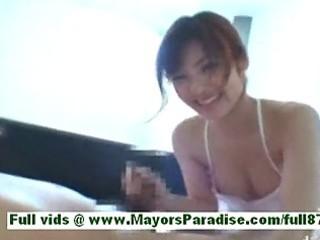 nao ayukawasuper hot oriental wife at home in the