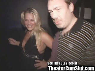 blond birthday bitches public porn theater sex