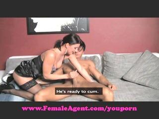 femaleagent. moist throat blowjobs