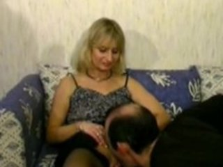 golden-haired mature cheats on her husband