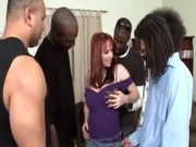 interracial hot redhead milf team-fucked