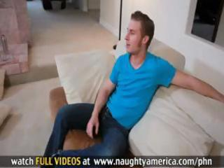 breasty golden-haired mamma alanah rae uses her