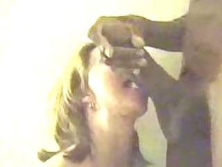 aged woman deepthroats biggest dark cock
