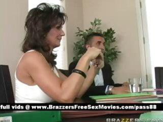 aged breasty brunette whore at a meeting