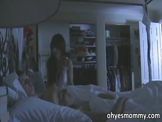 Busty stepmom is full on seducing her
