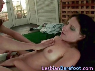 lesbo sex with sex-toy