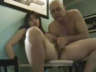hirsute aged pair orgasm non-professional very
