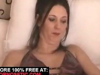 young wife gets stretched with marital-device