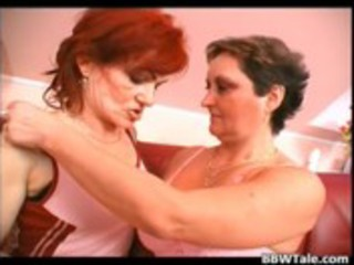 lesbo grannies pussy and tits licking