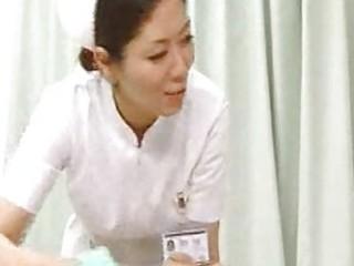 nurse giving handjob wife suddenly came around