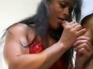 bodybuilding older woman anal