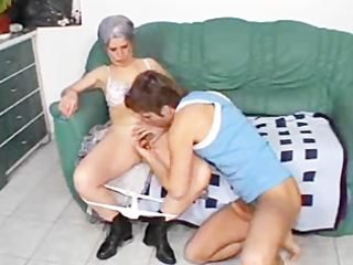 poor granny break out the depends!