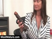 tattooed mamma fucking sex toy