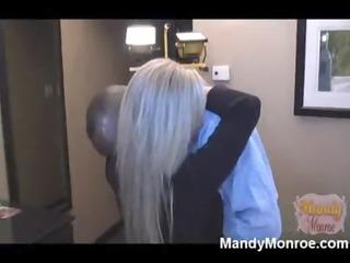 mandy monreo - swinger wife takes on more black