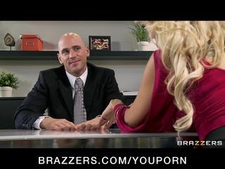cheating large tit blonde wife fucks salesmans